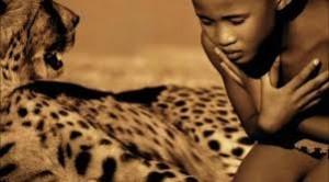 niña y tigre
